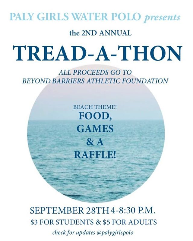 Girls%27+water+polo+to+host+Tread-a-thon
