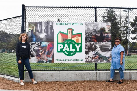 Diorio returns to Paly to wrap up school year