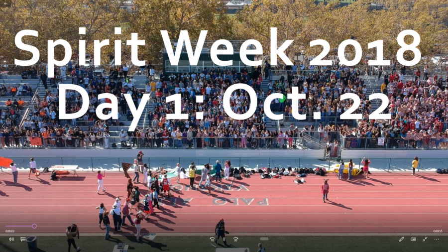 Spirit Week 2018: Day 1 Video Recap