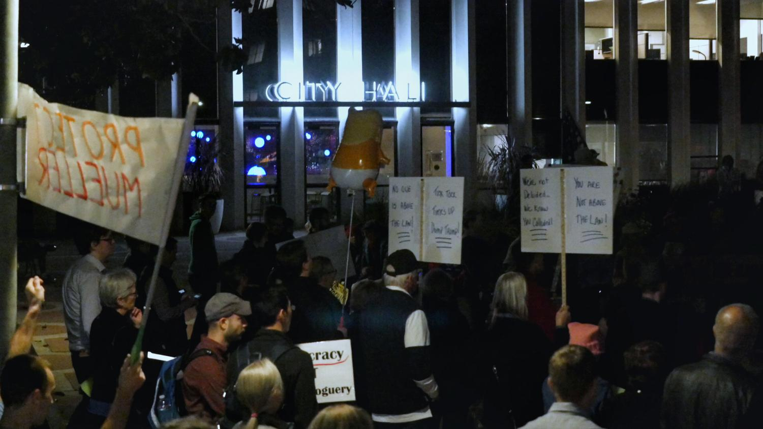 Palo Alto rallies to protect Mueller – Video recap