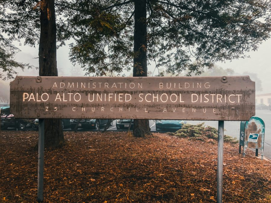 This+sign+stands+outside+of+the+Palo+Alto+Unified+School+District+office%2C+where+the+administration+is+busy+building+a+crisis+response+team+to+give+support+to+staff+and+students+in+the+wake+of+the+death+Greene+middle+school+teacher%2C+Kyle+Hart%2C+was+shot+after+an+alleged+suicide+attempt.++Principal+Adam+Paulson+said+that+the+crisis+team+is+instrumental+in+helping+students+cope.+%E2%80%9CAnytime+we+have+something+happen+in+our+community+we+get+together+in+what%E2%80%99s+called+a+crisis+team%2C+simply+it%E2%80%99s+just+a+nice+way+to+make+sure+that+all+students+and+staff+are+offered+support%2C%E2%80%9D+Paulson+said.+Photo%3A+Margaret+Li