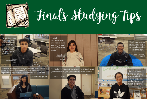 Verbatim: Upperclassmen offer advice for finals