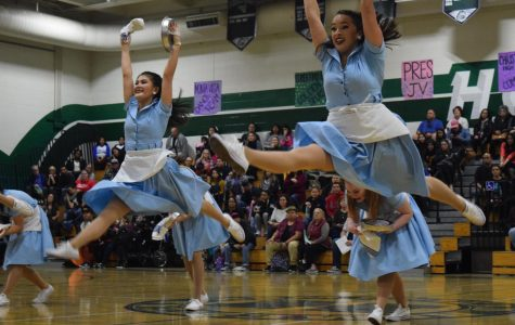 Dance team spins into season at Forté Showcase