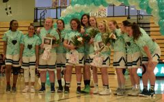 One last shot: Girls' b-ball team finishes strong on senior night