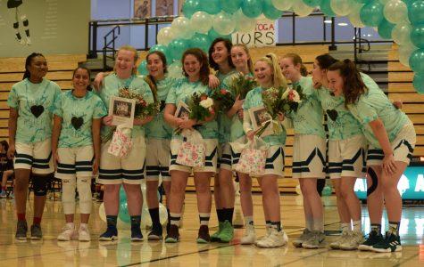 One last shot: Girls' b-ball team finishes strong on senior night