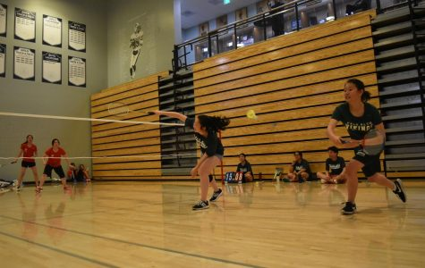 Badminton team suffers loss against Saratoga