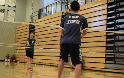 Badminton team defeated by Lynbrook