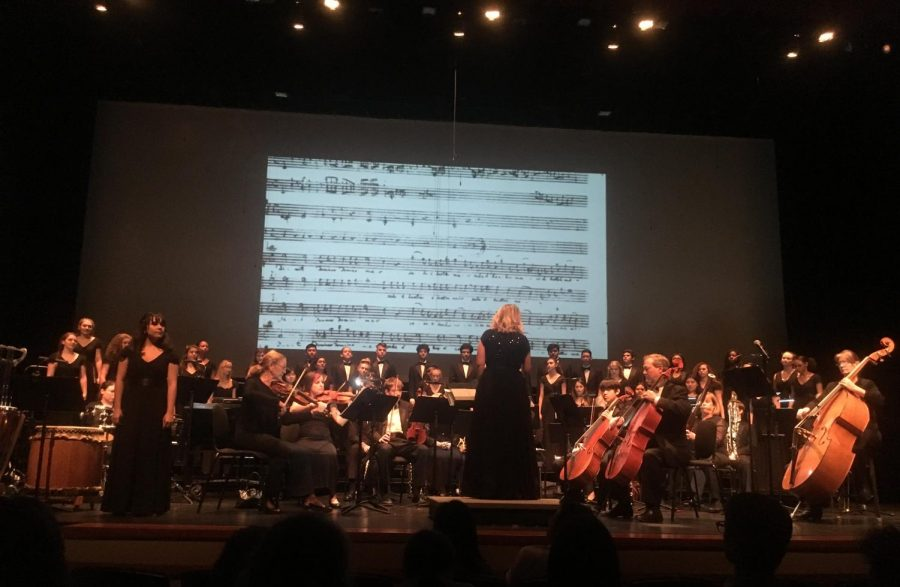 """Beyond the Stars"" choir concert features visual and auditory storytelling"