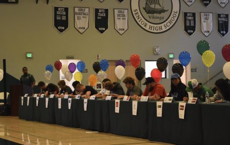 Student-athletes take next steps towards collegiate career