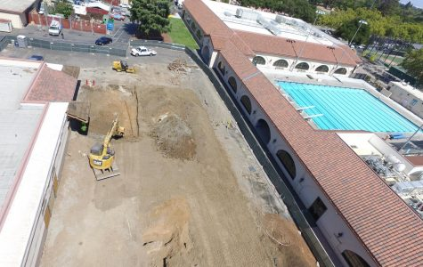Science building construction blocks classrooms, displaces bike racks