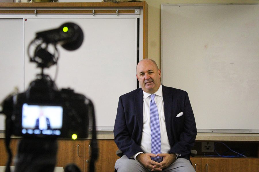 Superintendent of schools Dr. Don Austin discussed his plans for the 2019-2020 school year on Thursday.
