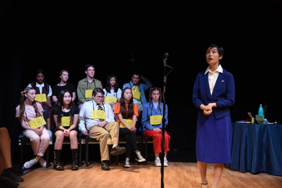 Preview: Paly Theatre to perform 'The 25th Annual Putnam County Spelling Bee'