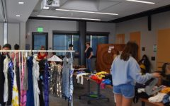 Teens attend bi-annual clothing swap