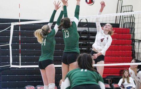 Girls' Volleyball triumphs over crosstown rival Gunn