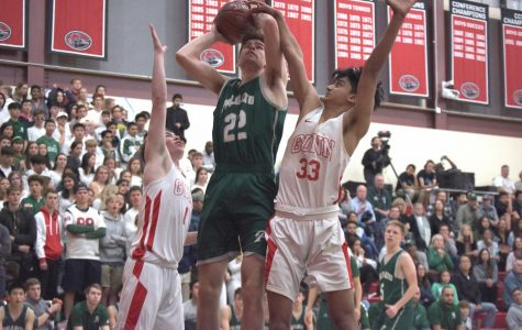 Boys' basketball: Vikings defeat Gunn in rivalry game