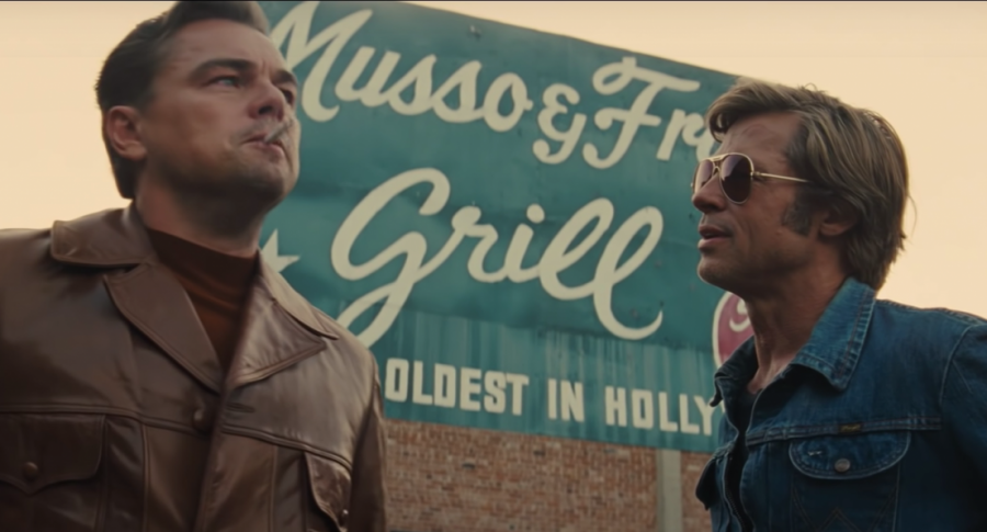Once Upon a Time ... in Hollywood:  beautiful but incoherent