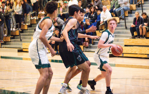 Boys' basketball remains undefeated in league with senior night win