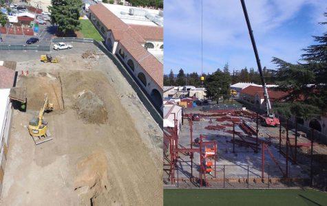 Science building construction continues despite school closure