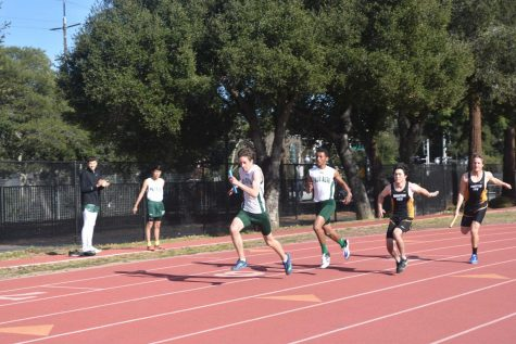 Track and field races to the finish line