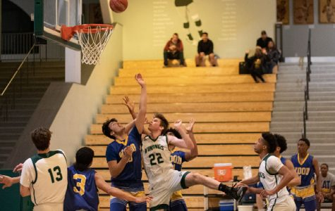 Close loss ends boys' varsity basketball playoff journey