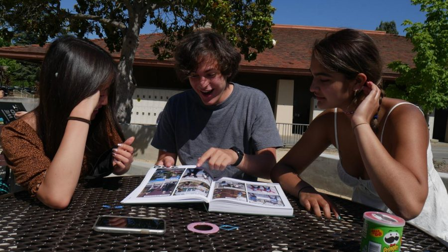 Madrono seniors reflect on yearbook and school year