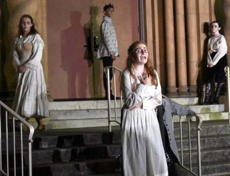 Something Wicked This Way Comes: Paly Theatre performs interactive outdoor show