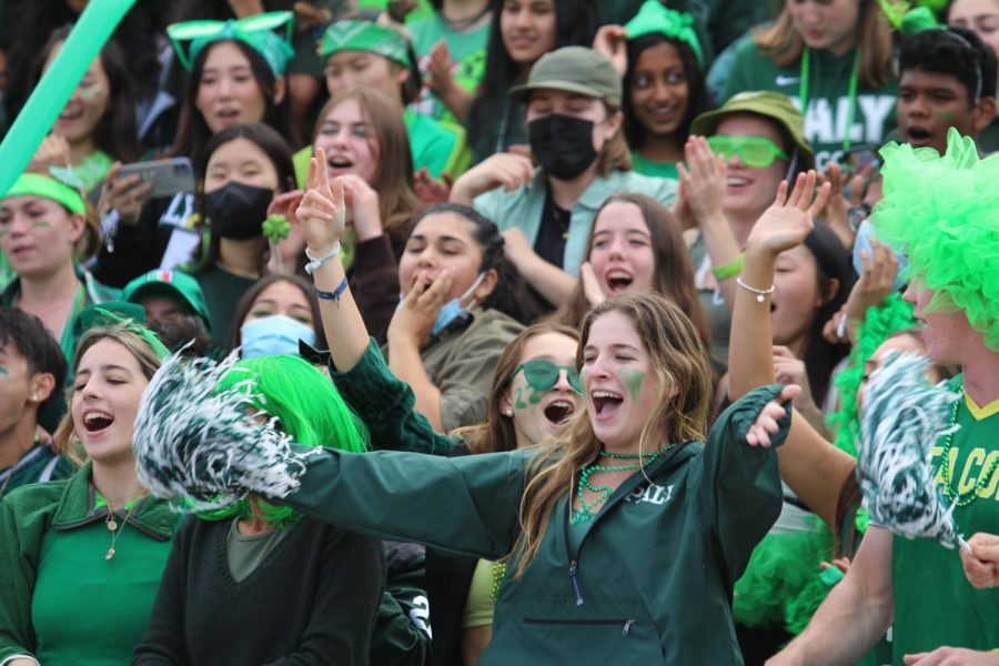 Freshmen maintain lead over sophomores at Color Day rally